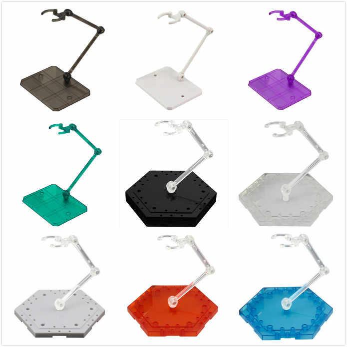 액션 피규어 액세서리 1/144 HG/RG 기본 모델 디스플레이베이스 용 조절 식 그림 받침대 받침대