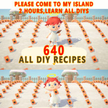 640 All Diy Animal Crossing New Horizons Island Diy Recipes Plan Bells Acnh Materials Nmt Gold Nuggets Nook Miles Tickets Items