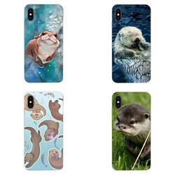 На Алиэкспресс купить чехол для смартфона for xiaomi redmi mi 4 7a 9t k20 cc9 cc9e note 7 8 9 y3 se pro prime go play colourful style animal cute baby otter pattern