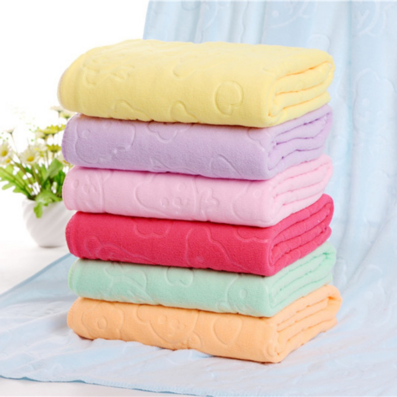 Newborn Baby Blankets Warm Fleece Thermal Soft Stroller Sleep Cover Bear Print Infant Bedding Wrap Kids Bath Towel