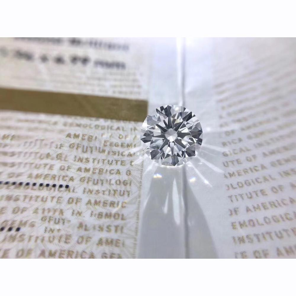0.5ct Carat D Color Loose Moissanite 5mm Round Brilliant Cut Lab Diamond High quality jewelry bracelet DIY material