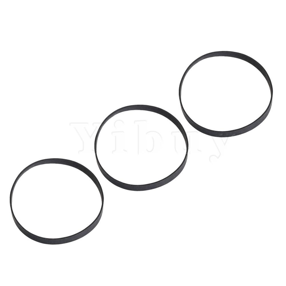 Strap Recorder Turntable Belt Yibuy 10pcs Cassette-Tape-Replacement Rubber