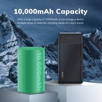 TOPK I1014 внешний аккумулятор 10000 мАч 4