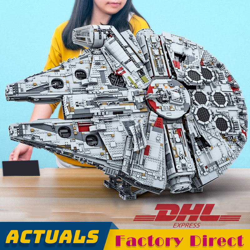 8445 Pcs Biggest Millenniumabc Falconabc 05132 Star Series Wars Destroyer Bricks Model Building Blocks Compatible 75192