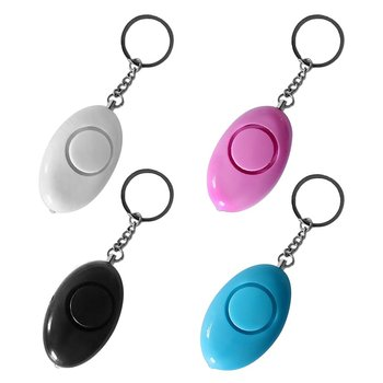 Personal Safety Alarm Keyring Anti-attack Security Protection Emergency Alarm Children School Alert Mini Egg Shape Women LESHP 3