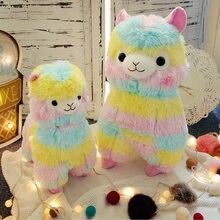 Милая красочная мягкая игрушка альпака плюшевая кукла Классическая