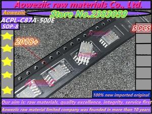 Image 1 - Aoweziic 2018 + 100 новый импортный оригинальный фотоэлемент ACPL C87A C87A ACPL C87A 500E C87AT SOP 8, изолирующий Оптрон