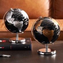 Home Decor Accessories Retro World Globe Modern Learning World Map Globe Kids Study Desk Decor Globe Geography Kids Education