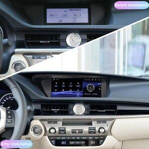 Image 2 - COHO راديو السيارة Android 10.0 ، ثماني النواة ، 4 64 جيجابايت ، نظام تحديد المواقع العالمي للملاحة ، مشغل وسائط ، لكزس ES250 ، ES300 ، ES350 (2013 2017)