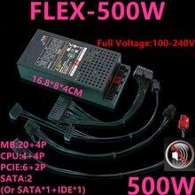 جديد PSU للمياه المبردة سايكو فليكس ناس لولي صغيرة 1U D01S3 M4X D36 K39 K49 T39 R47 500 واط امدادات الطاقة FLEX 500W