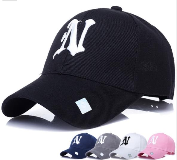 Baseball caps high quality HipHop fashion enthusiast NY outdoors caps tennis N letters personality image