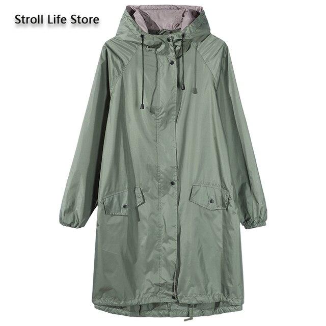 Japanese Windbreaker Riancoat Women Waterproof Jacket  Long Rain Coat Poncho Travel Hiking Rainwear Capa De Chuva Gift Ideas
