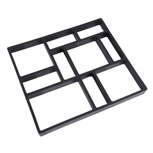 45x40cm Plastic Path Maker Model Home Garden DIY Tool Road Paving Cement Mould Brick Concrete Stepping Stone Stone