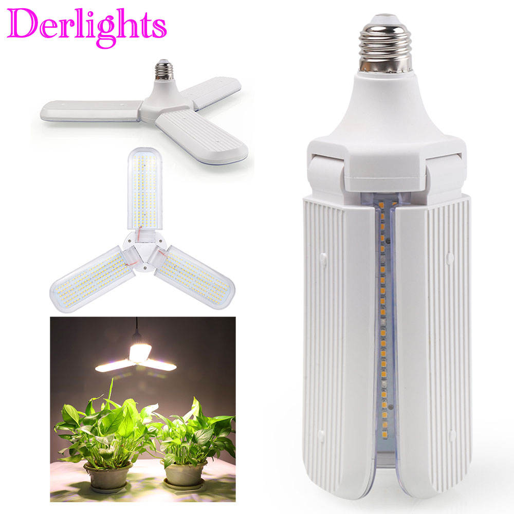 150W 414LED Full Spectrum Grow Lights E27 AC85~265V LED Plant Lamp For Indoor Greenhouse Grow Tent Vegetables Growth&Flowering