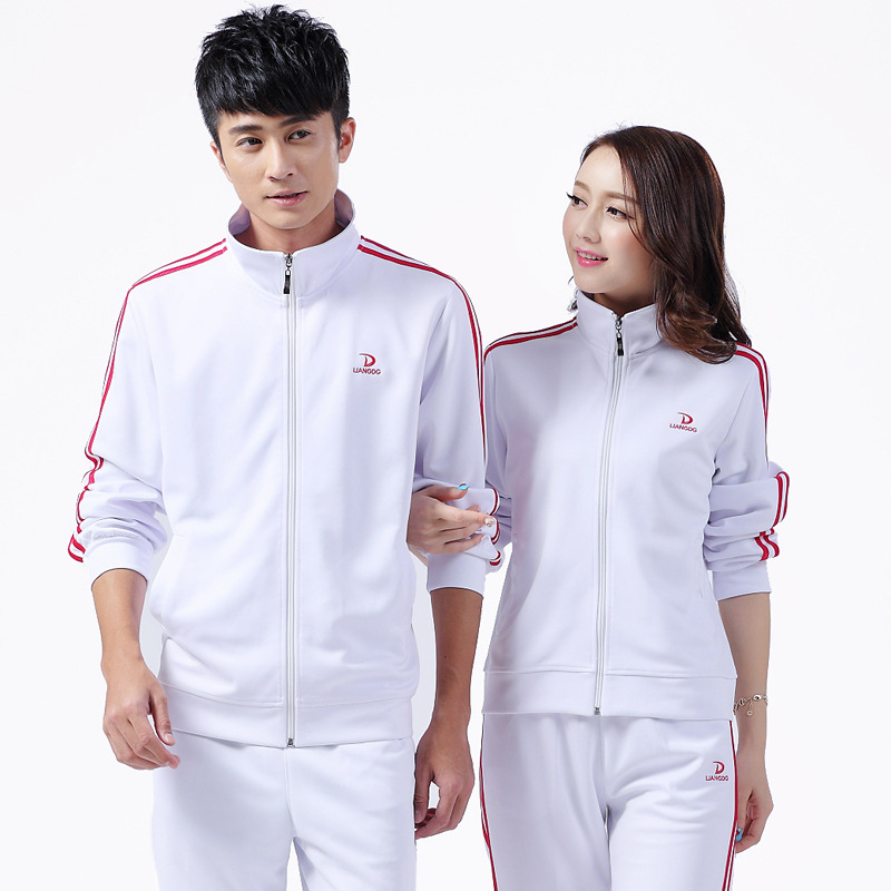 Spring And Autumn Sports Clothing Set Men And Women Jiamusi Fitness Exercise Sports Clothing Middle-aged Square Dance Group Clot
