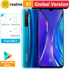 Global Versie Realme Xt 8 Gb Ram 128 Gb Rom Nfc Mobiele Telefoon Snapdragon 712 Aie 64MP Quad Camera 4000 mah Snel Opladen Smartphone(China)