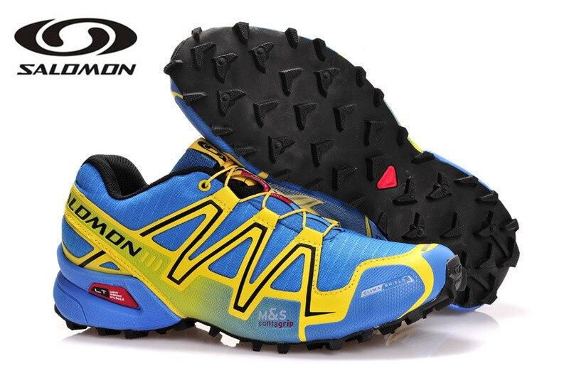 Salomon Speed Cross 3 CS III chaussures de sport pour hommes en plein air chaussures d'escrime eur 40-45 chaussures de course pour hommes de fond