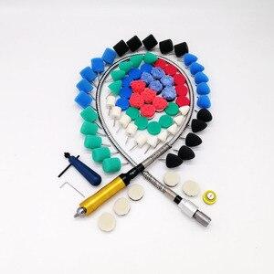 Image 1 - Outil rotatif adapté pour meuleuse, graveur, perceuse, polisseuse, 106CM, arbre Flexible, pour voiture, M14