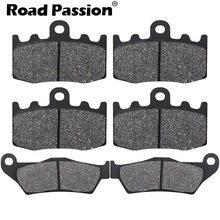 Motorcycle Front and Rear Brake Pads for BMW RG 1200 GS RG1200 GS RG1200GS K25 Cast Wheel 2004 2005 2006 2007 2008