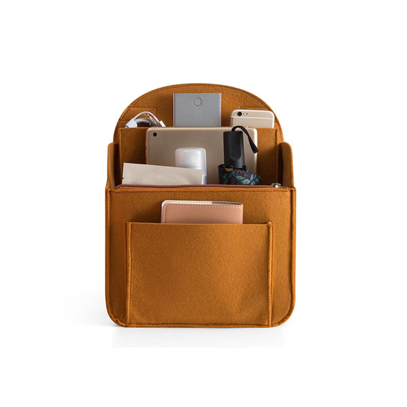 Portable Felt Storage Organizer Insert For Backpack Rucksack Handbag Shoulder Bag