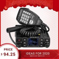 RETEVIS RT95 Мобильная Радио Автомобильная рация VHF UHF Автомобильная радиоприемник Amador TFT lcd дисплей 25 Вт двухсторонняя Автомобильная радиоприемо...