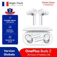 OnePlus-auriculares inalámbricos Buds Z versión Global, cascos con TWS, Bluetooth 5,0, IP55, 20 horas de batería, para OnePlus 8T Nord 8 Pro N10