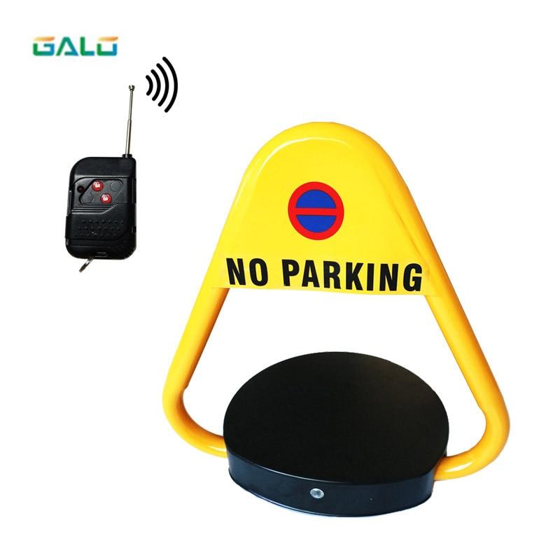 Triangular shape Electric parking lock Automatic remote control waterproof VIP Park car barrier LOCK