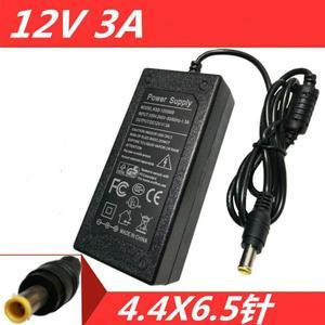 Зарядное устройство для LG W1943S E1948S, 12 В, 3 А, 2 А, постоянный ток, LCAP07F, E2260, 12024, G, ЖК-монитор, 6,5 мм, с штифтом внутри