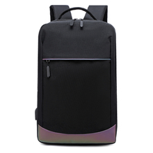 Fashion Large Man Backpack Laptop Bigs Tavel Teenager Bookbag Nylon School Bags For Boys Luxury Designer USB Black Waterproof