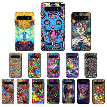Babaite Psychedelic Trippy Art Phone Case for Samsung Galaxy S6 S6edge Plus S7 S7edge S8 S9 S10 Plus S20 image