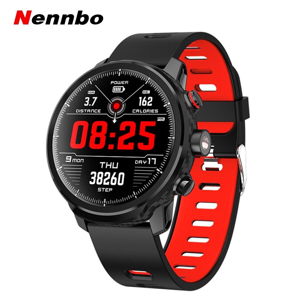 Новые L5 Смарт часы для мужчин IP68 Водонепроницаемые несколько видов спорта режим сердечного ритма погоды Bluetooth умные часы в режиме ожидания