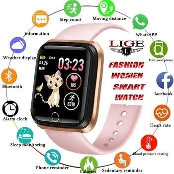 LIGE Smart Watch Women Fitness