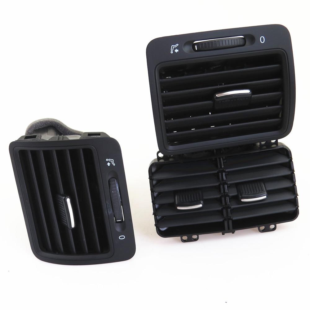 FHAWKEYEQ L & R вентиляционные отверстия для автомобильного кондиционера для VW Jetta MK5 Golf MK5 Rabbit 1KD 819 203 1KD819703 1KD 819 704 1K0 819 710 - 2