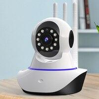Telecamera IP per interni 1080P telecamera IP di sorveglianza di sicurezza domestica intelligente CCTV 360 PTZ Baby/Pet/Baby Monitor Wireless Wi Fi Cam