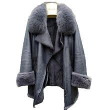 Jacket Fur-Coats Rabbit-Skin Natural Women's Luxury Genuine New And Winter with Female