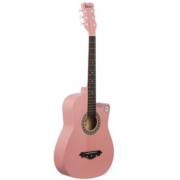 2020 38 Cal gitara akustyczna gitara akustyczna początkujący zaczyna ćwiczyć instrumenty strunowe gitara tanie i dobre opinie Maple Strona główna-schooling Beginner Unisex other CN (pochodzenie)