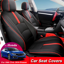 Car-Seat-Covers-Set Cushions Protector Internal-Accessories Styling-Seat Civic Honda