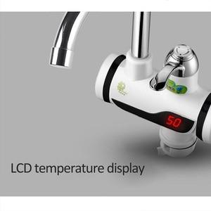 Image 5 - Kbaybo aquecedor elétrico para banheiro, 3000w, aquecedor de água para cozinha, torneira sem tanque, display de lcd