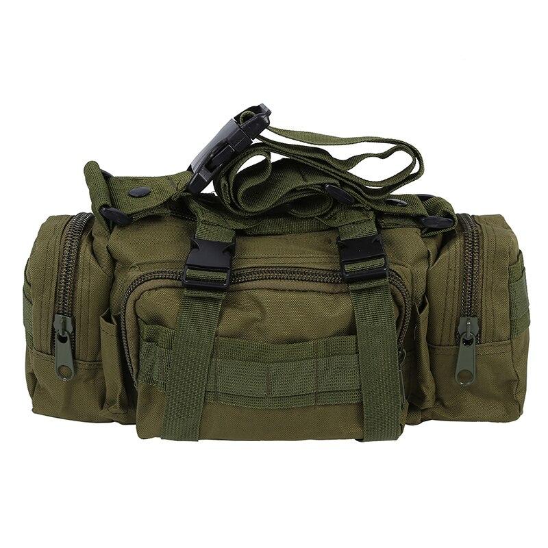 Camping Hiking BikeTrekking Sport Military Army Bum Travel Waist Bag - Green