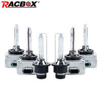 RACBOX HID Bulb D1S D1R D2S D2R D3S D3R D4S D4R Xenon HID Lamp Car Globe Light 35W 3000K 4300K 5000K 6000K 8000K 12000K Flashing