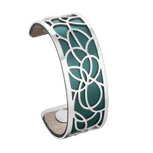 Image 4 - Legenstar Nieuwe Merk Rvs Armbanden Bangles Voor Vrouwen Sieraden Mode Verwisselbare Manchet Armband Manchette Femme