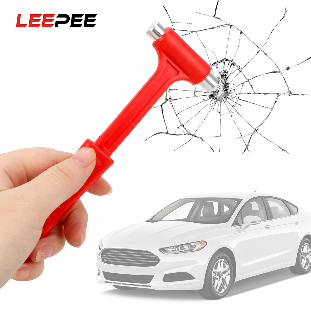 LEEPWW Life-Saving Car Safety Escape Glass Window Breaker Car Safety Hammer Emergency Hammer Seat Belt Cutter Car Accessories image