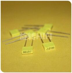 50 sztuk AV R82 100NF 100V P5MM kondensator miedziany KEMET 104/100V MKT 0.1UF 100N włochy Arcotronics 0.1 uF/100 V żółty Układy scalone wzmacniaczy operacyjnych Elektronika użytkowa -