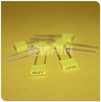 50PCS AV R82 100NF 100V P5MM copper film capacitor KEMET 104/100V MKT 0.1UF 100N Italy Arcotronics 0.1uF/100V yellow Operational Amplifier Chips Consumer Electronics -