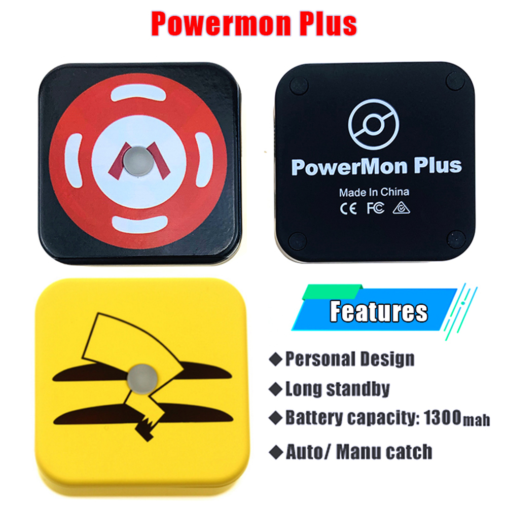 Powermon Auto Catch For Pokmon Go Plus Pocket Auto Smart Capture For IPhone6 / 7 / 7 Plus / IOS12 Android 8.0 With Luxury Bag