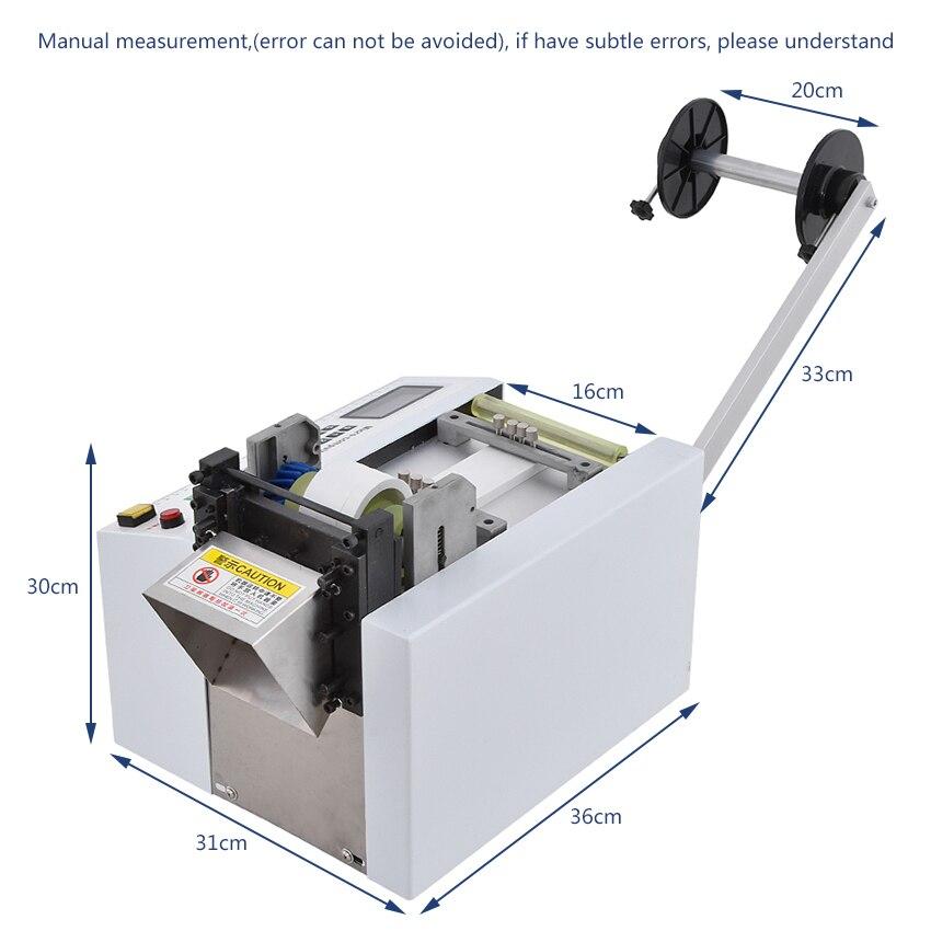 Máquina de corte automática quente HZX 100 da mangueira do pe do tubo do calor shrinkable da máquina de corte da tubulação do microcomputador 110 v/220 v 350 w 0 100mm - 4