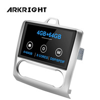 ARKRIGHT 9'' 4+64 GB 1 din Eight Core Android Car Radio stereo for Ford Focus 2005 2012 powerful Car multimedia player /4G