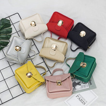 Kids Mini Purses and Handbags 2020 Cute Leather Girls Crossbody Bag Baby Small Clutch Bag Coin Wallet Women Hand Bags