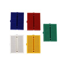 цена на SYB-170 Mini Color Solderless Prototype Breadboard Protoboard PCB Universal Circuit Test Board DIY Tools Reusable Bread Board
