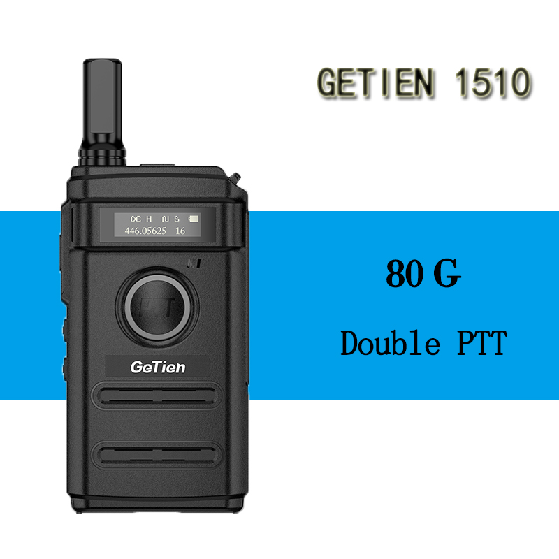 GeTien Mini Handheld Walkie Talkie Lightweight Small Machine Small Handheld Hotel Outdoor Two Way Ham Radio HF Transceiver